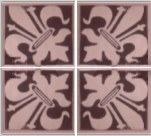 Diagram of tiles grouped in four.